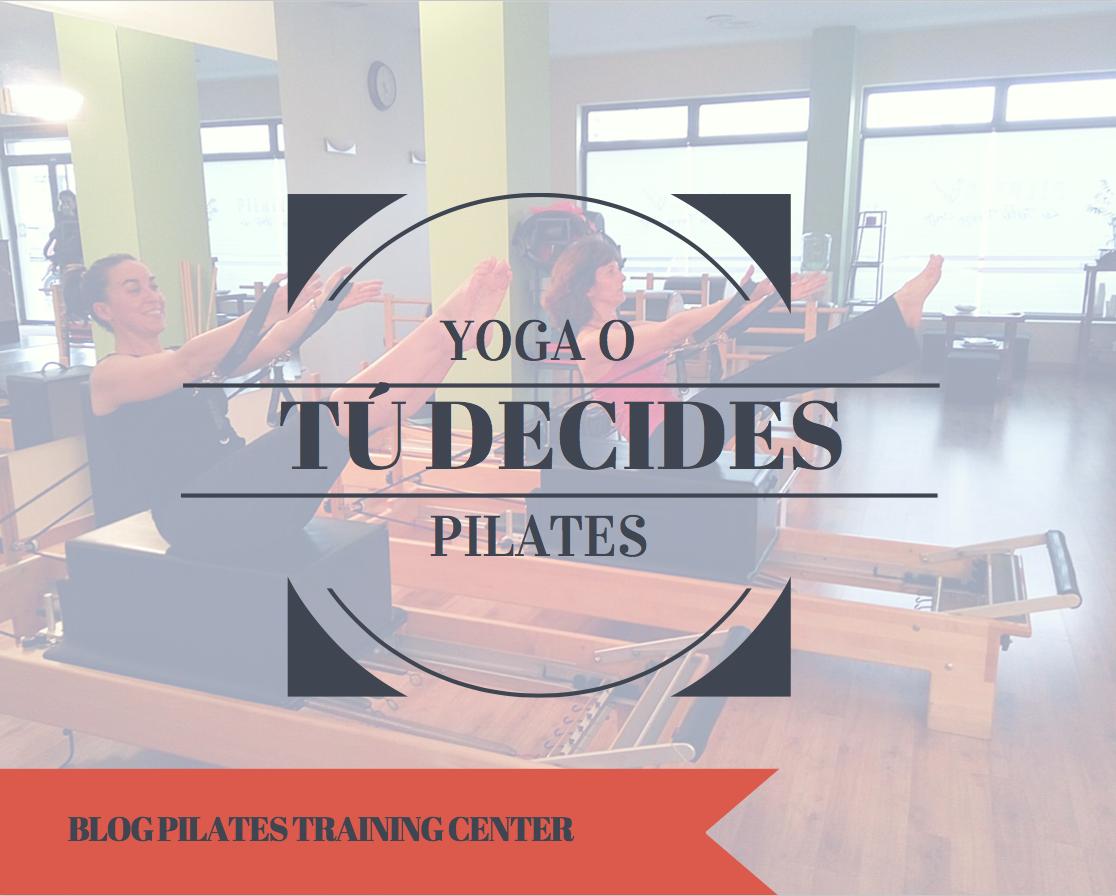 El método Pilates y el Yoga a menudo son confundidos por personas que quieren empezar a practicar uno de los dos.